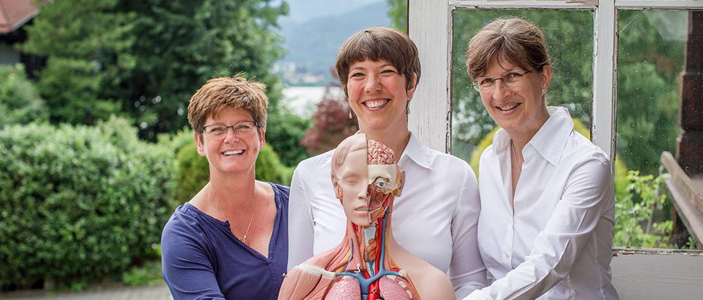 Das Team der Heilpraktikerschule Tegernsee