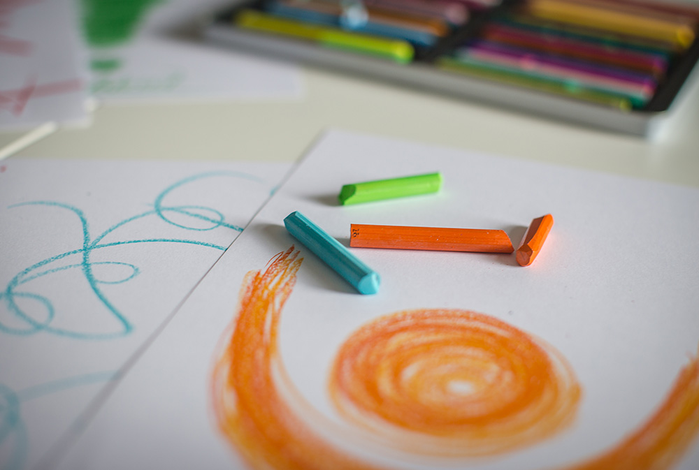 Heilpraktikerschule Tegernsee - Fortbildungen- Geführtes Zeichnen und Farbtherapie